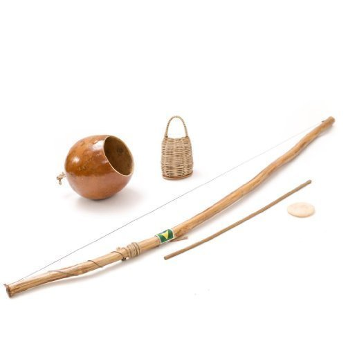 Brazilian African Berimbau Capoeira Instrument de musique en bois faite à la main