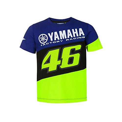 Valentino Rossi Junior T-Shirt VR46 MotoGP M1 Yamaha Offizielle 2020