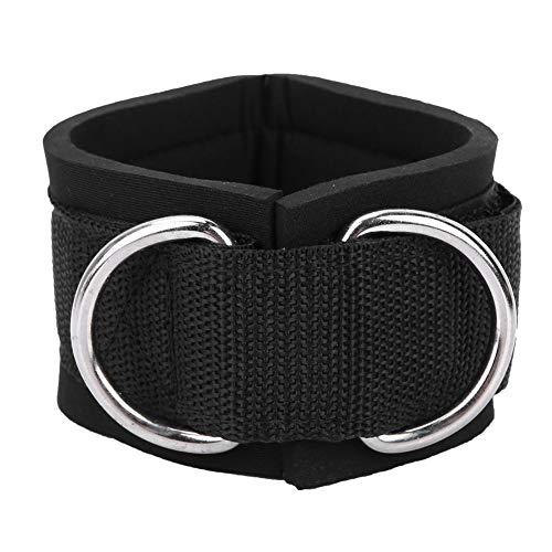 Enkelband, dubbele D-ring enkelboeien 1 paar fitness enkelbandjes Unisex trainingen Nylon enkelband voor dames en heren