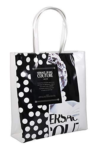 Versace Jeans Couture Shopper schwarz/weiß