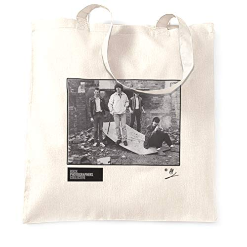 Rock Photographers Collective Echo and the Bunnymen Birmingham 1980 Stofftaschen - White/One Size