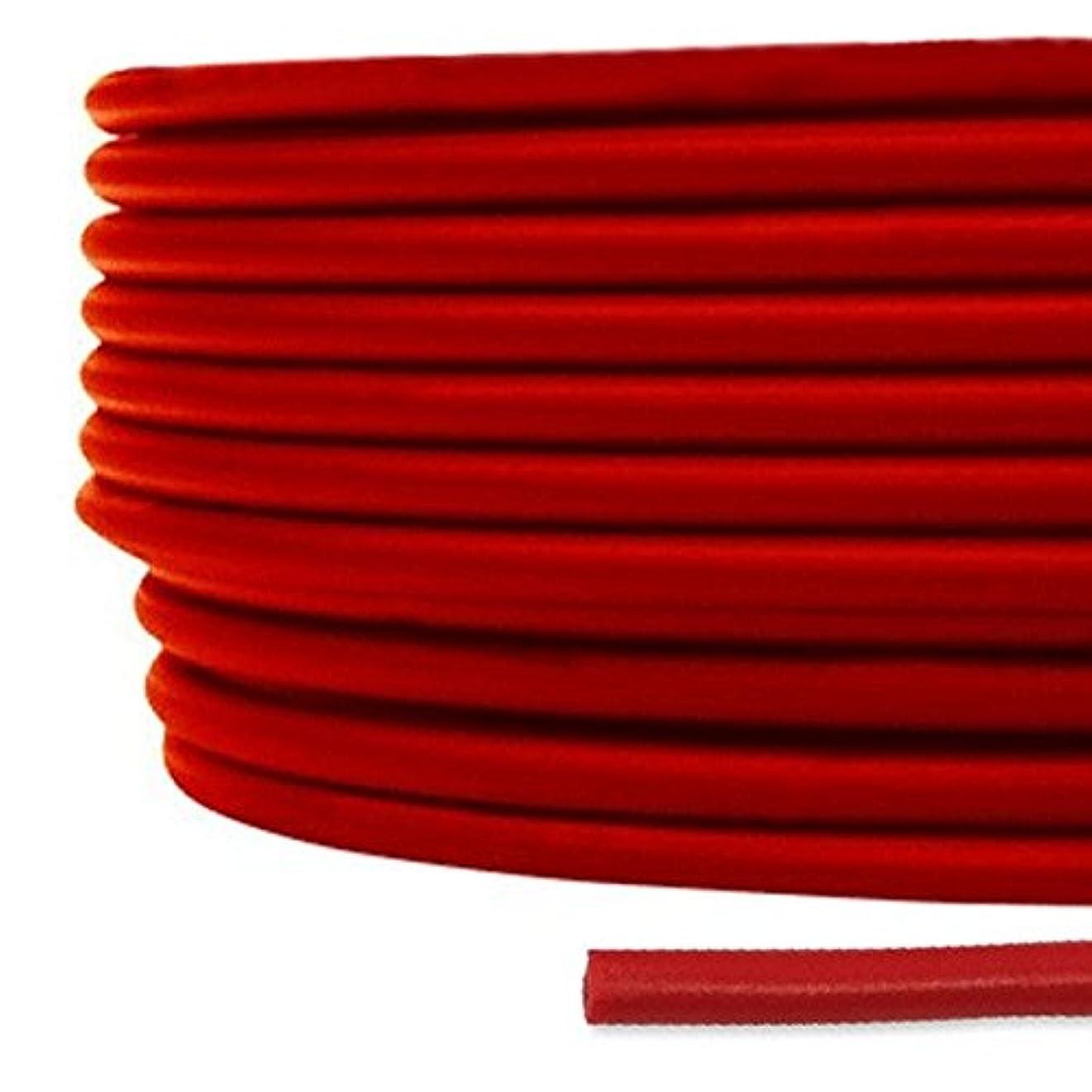 ご覧くださいミュートグリルフジクラ KIV 2sq 赤 200m一巻 600V耐圧 電気機器内配線用ビニル絶縁電線 SD