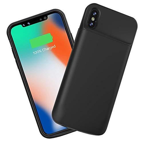 Coque Batterie iPhone X, Snowkids 6000mAh Chargeur de Batterie Externe Cas...