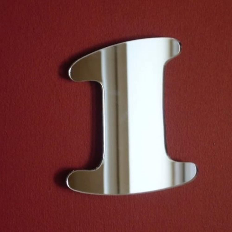 Number 1 Mirror - 45cm