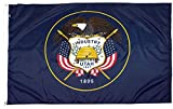 FlagSource Utah Nylon State Flag, Made in USA, 4x6