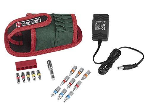 PARKSIDE Mini-Akkuschrauber 3,6 V mit 14 Bits Rapidfire 2.0 - 2
