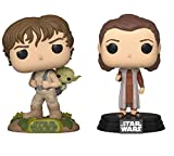 Funko Star Wars: POP! Star Wars Collectors Set - ESB Leia Bespin, Training Luke with Yoda