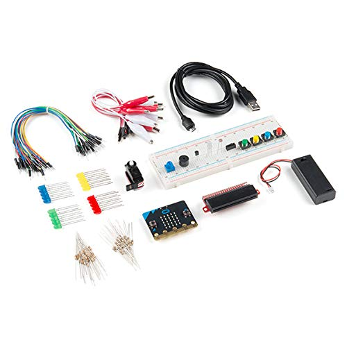 SparkFun Inventor's Kit for Micro:bit-Start Learning Programming and Electronics Use for Education Classroom MakerSpace Library and at Home Learning