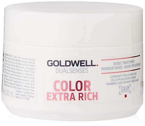 Goldwell Dualsenses Color Extra Rich 60 seconds Treatment- Pflegekur, 1er Pack (1 x 200 ml)