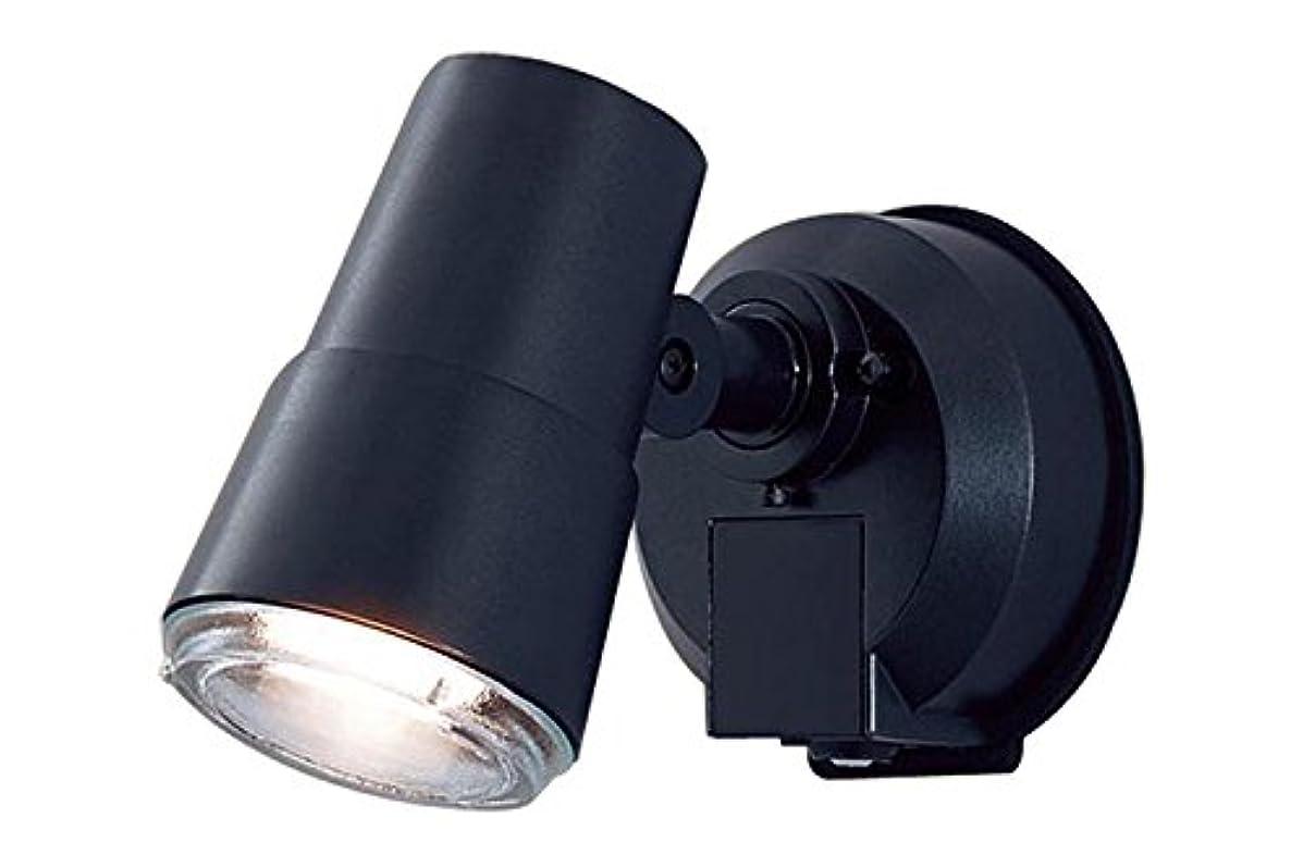 妥協階絵Panasonic LED スポットライト 壁直付型 50形 電球色 LGWC45001BK