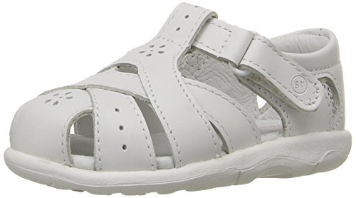 Stride Rite SRTech Tulip Fisherman Sandal (Toddler),White,6 M US Toddler