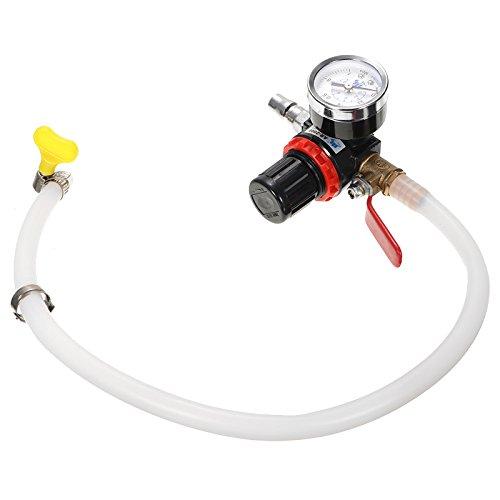 GOZAR Auto Radiator Koelsysteem Lekkage Water Tank Drukdetector Lekken Tester Tool Met Pijp Adapt