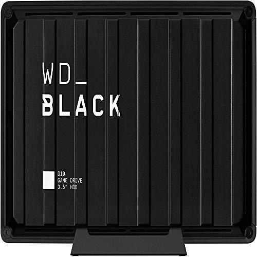 WD_BLACK 12TB D10 Game Drive für Xbox One 7200U/min mit aktiver Kühlung zum Speichern Ihrer umfangreichen Xbox-Spielesammlung