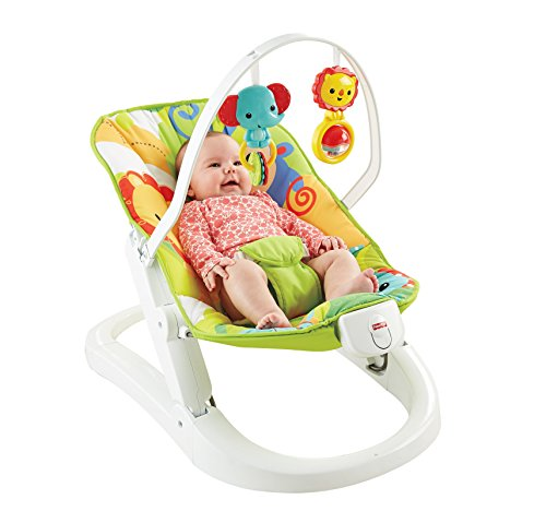 Fisher-Price Rainforest Friends FUN N N Fold Bouncer
