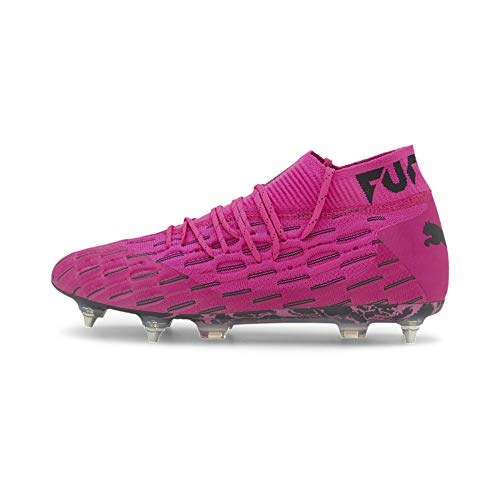 PUMA Future 6.1 Netfit MxSG Fußballschuhe Luminous Pink-Puma Black UK 9.5_Adults_FR 44