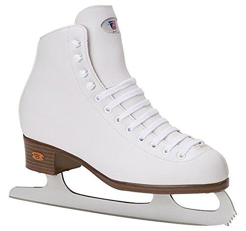 Riedell White Ribbon 112Ice Schlittschuhe für Eiskunstlaufen