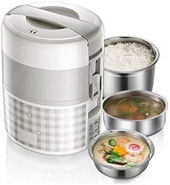 Steamer Elettrico Lunch Box di sincronizzazione Intelligente Bento Boxes Steam Cook Calore Tre Principali funzioni Alimentari Grado Materiale
