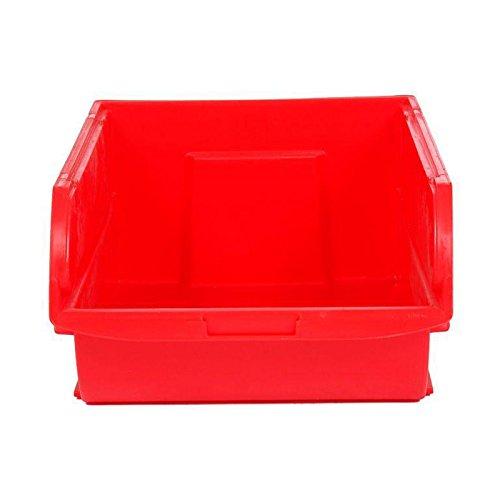 Stanley Caja organizadora abierta, espacio para guardar cosas 10 litros, roja, 20 x 32,7 x 15,6 cm 056400-004, Rojo, 20x32.7x15.6cm