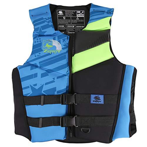Chaleco de Natación para Adultos - Chaquetas de Natación Ajustables Multifuncionales para Hombres y Mujeres, la Mejor Chaqueta de Flotación de Snorkel para Nadar para Hacer Snorkel, Kayak