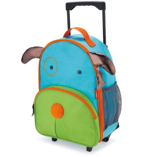 Skip Hop Kids Luggage with Wheels, Dog