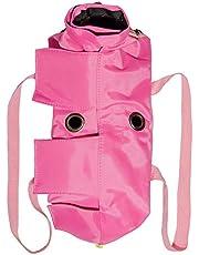 Kukaster Pet 猫用品 おちつく袋 猫保定袋 キャットグルーミングバッグ 介護 爪きり 投薬 歯ブラシ 点眼 補助具 引っかき防止 脱走防止
