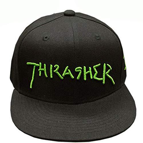 [スラッシャー] 帽子 GONZ LOGO SNAP BACK CAP キャップ メンズ レディース スナップバック FREE BLK/LIM