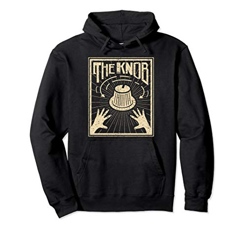 witziges Knob für Synthesizer-Player Pullover Hoodie