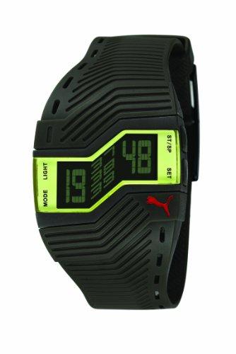 Puma Unisex Analog Digital Uhr mit Silikon Armband PU910761001