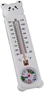 hkwshop Higrómetro para Interior Termómetro Vertical e higrómetro Temperatura Colgante Temperatura Monitor de Humedad Higr...