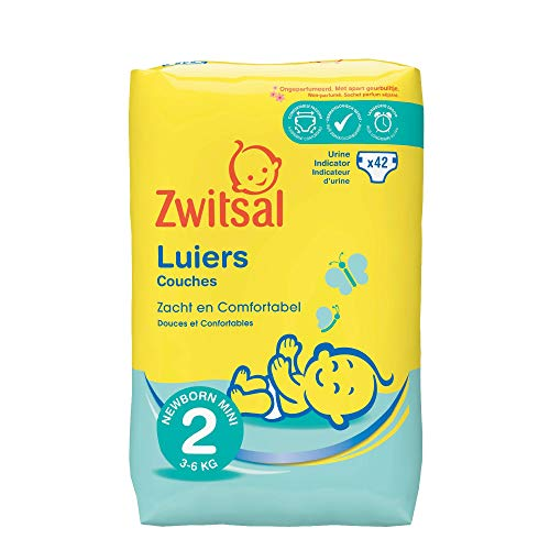 Zwitsal Luiers Mini - Maat 2-252 stuks Volumepak
