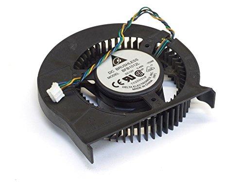 Delta Electronics Delta BFB1012L Radial Fan/Lüfter 4-Wire 0.48A 12V nVidia GeForce 8800GTS 9800GTX (Generalüberholt)