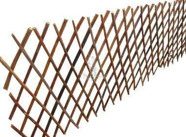 A2Z Home Solutions Lovely Addition Garden Outdoor Expanding Willow Trellis Screening Fences- (120x180cm)