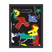 INOV 滴り 絵画 アート パネル ポスター アート フレーム パネル インテリア 玄関 フレーム付き フレーム 高級 アート リビング 30X40CM