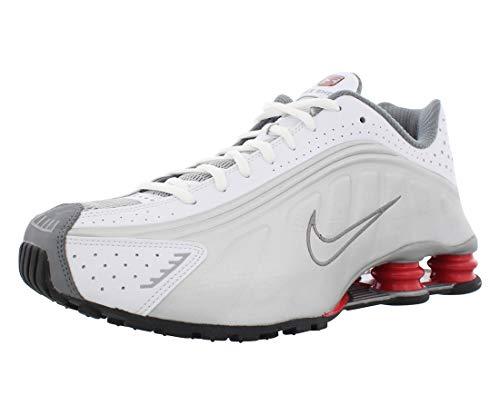 Nike Shox R4 White/Metallic Silver