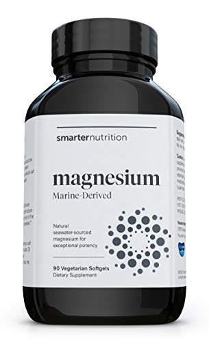 """The Right Form of Magnesium"" - Highest Concentration. Highest Bioavailability. No Laxative Effect. Superior to Glycinate and Citrate. Easily Digestible in a Veggie Softgel (30 Servings)"