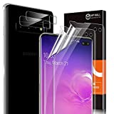 4 Pack MP-MALL 2 Pack Screen Protector + 2 Pack Camera Lens Protector Compatible for Samsung Galaxy S10 Plus and S10+ Flexible Protective Film Installation Locator New Version HD Clear