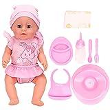 Muñeca de juguete, muñeca de juguete de alta simulación, para niños, regalo para niños(SY011-1 color box version)