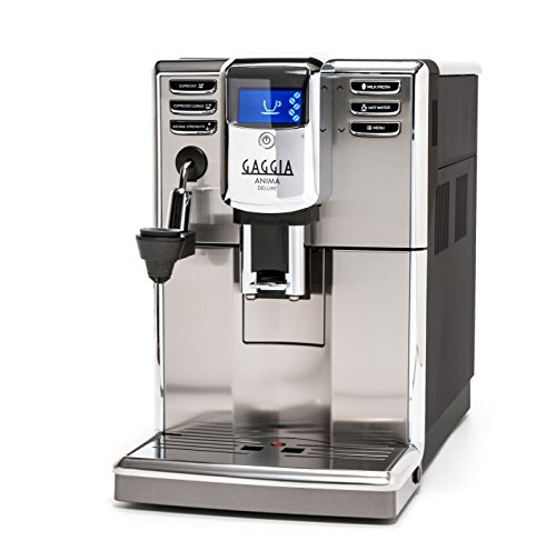 Gaggia Anima Deluxe Coffee and Espresso Machine, Includes Auto Frother for Lattes and Cappuccinos with Programmable Options