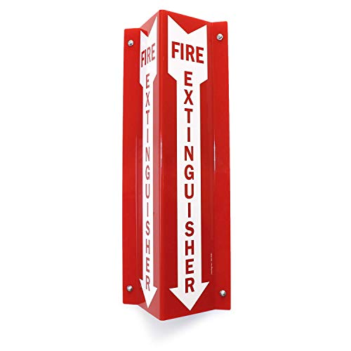 """SmartSign""""Fire Extinguisher"""" Projecting Sign, Fire Extinguisher with Arrow 