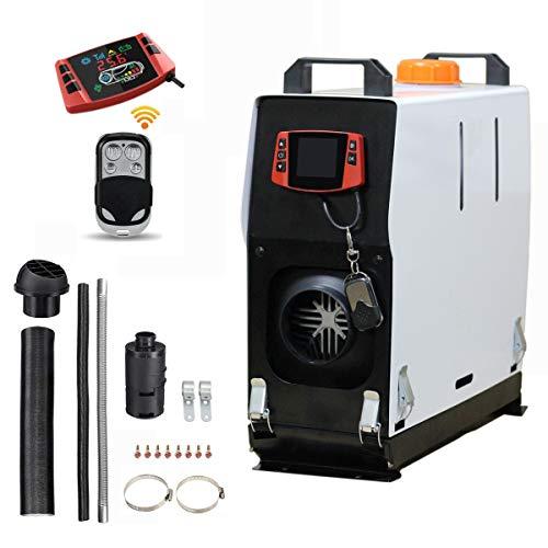 Tseipoaoi all in one 12V 5KW Calefactor de estacionamiento Air diesel parking heater Aire Diesel calefacción con Control Remoto Pantalla LCD para Camiones yate Barco Inicio autobús