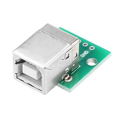 Annjom USB-DIP-Adapterplatine USB-zu-DIP-Platine, langlebig Robust 100% nagelneu 10-teilig für Breadboard-Design DIY