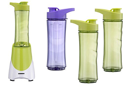 Standmixer Smoothie-Maker Melissa 16180069 Smoothie to go 4 Becher inklusive