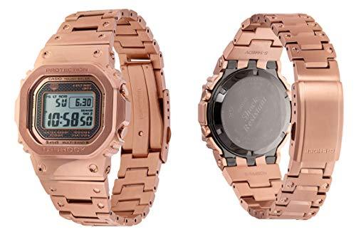 Reloj Casio G-Shock GMW-B5000GD-4ER - Reloj con Sistema de energía Solar y con recepción de señales de radiofrecuencia.