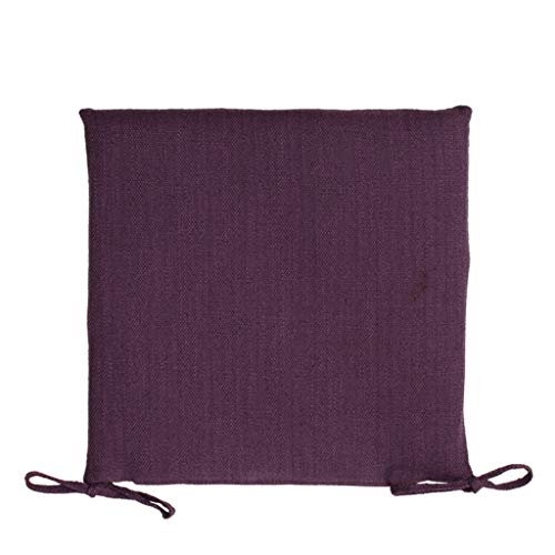 YUESFZ Chair Pads Fashionable Cotton And Linen Sofa Cushions, 4cm Thick Dining Chair Cushion For Living Room, Bay Window Warm Coffee Table Futon (Color : I, Size : 45cm)