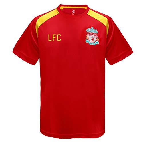 Liverpool FC - Jungen Trainingstrikot - Offizielles Merchandise - Rot - LFC - 10-11 Jahre