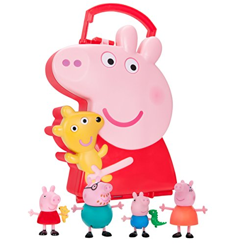 Peppa Pig 4-Figure Carry Case Storage