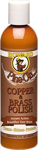 Howard CB0008 Pine-Ola Copper and Brass Polish, 8-Ounce
