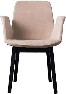QFWM Sillas de Comedor Estudio en el hogar Comedor de diseño Minimalista de Habitaciones Silla Moderna Silla de Madera Maciza de Escritura Sillón Cocina Comedor Muebles