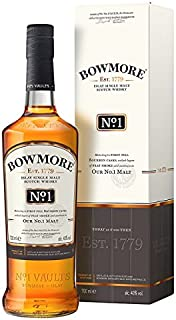 Bowmore No. 1 Islay Single Malt Scotch Whisky 700ml Pack 70cl