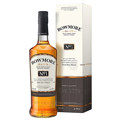 Bowmore No. 1 Islay Single Malt Scotch Whisky 700ml Pack (70cl)